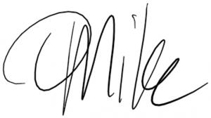 Mike (handgeschreven) zoekt als hoofdredacteur gastauteur